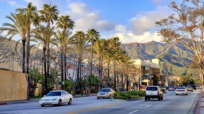 Burbank California best weather
