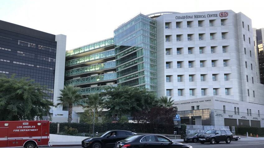 Cedair-Sinai Medical Center in Los Angeles California
