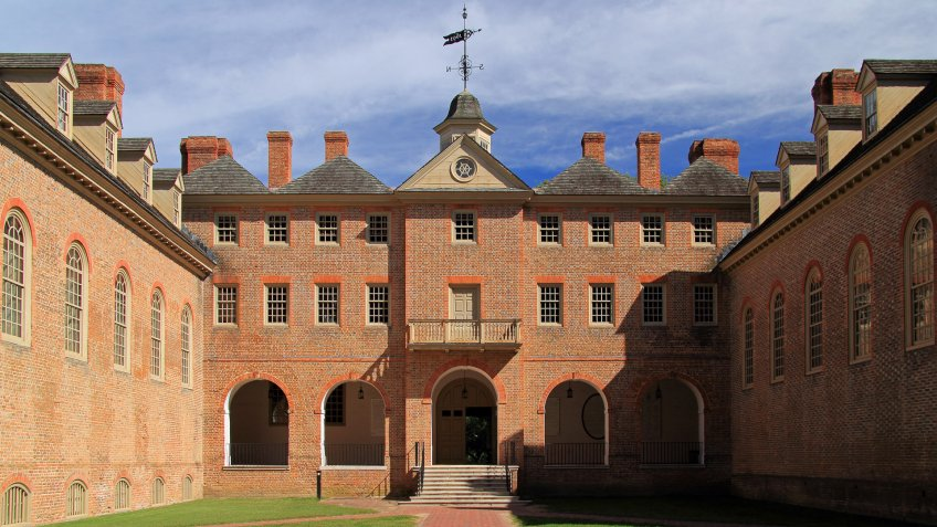 College of William and Mary in Williamsburg Virginia