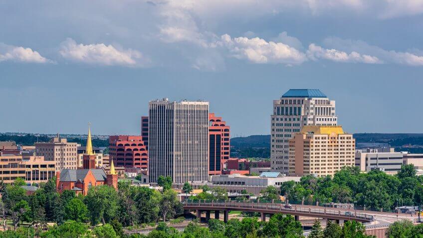 downtown Colorado Springs Colorado