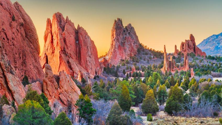 Garden of the Gods, Colorado Springs, Colorado, USA.