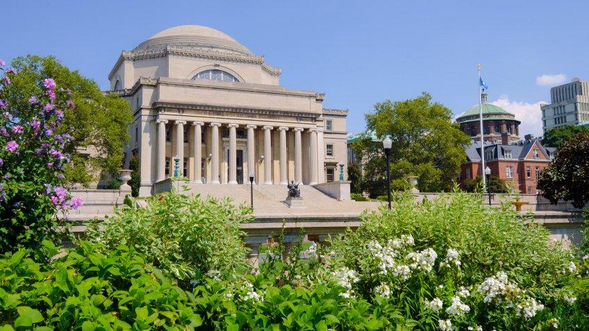 Low Memorial Library at Columbia University in New York City.