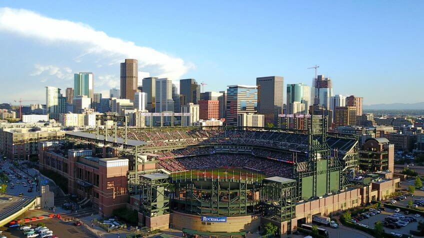 Coors Field Colorado baseball stadium
