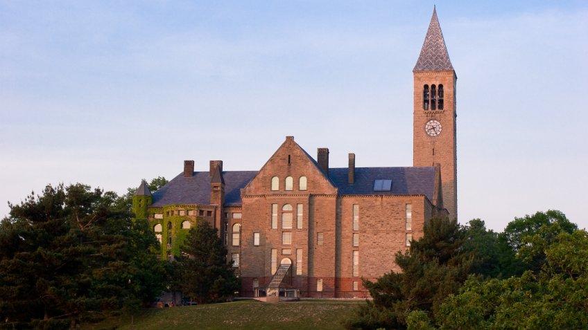 Cornell University McGraw Tower in Ithaca New York