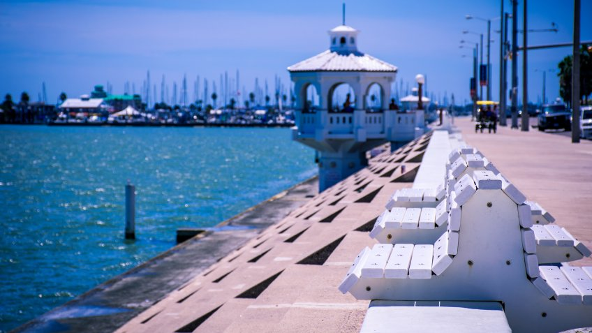 Water Front Property in Corpus Christi, Texas.