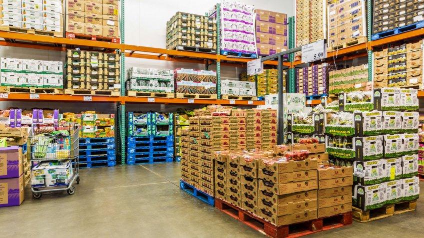 Costco bulk perishable produce items