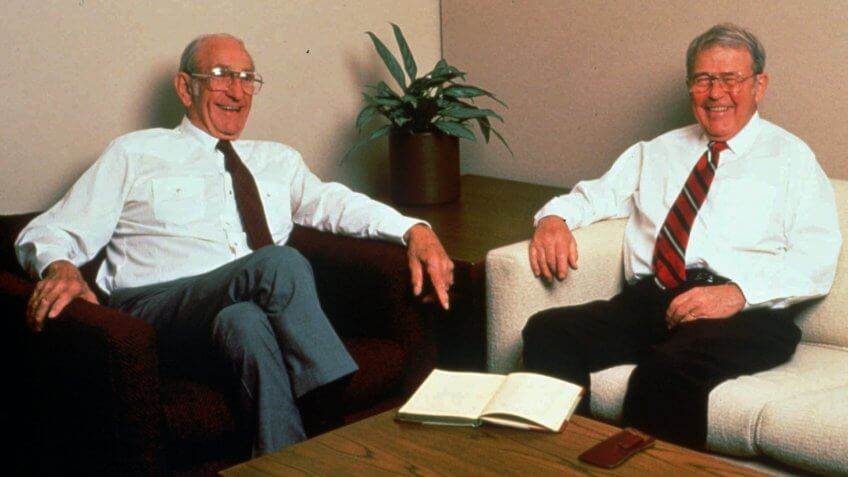 David Packard and Bill Hewlett