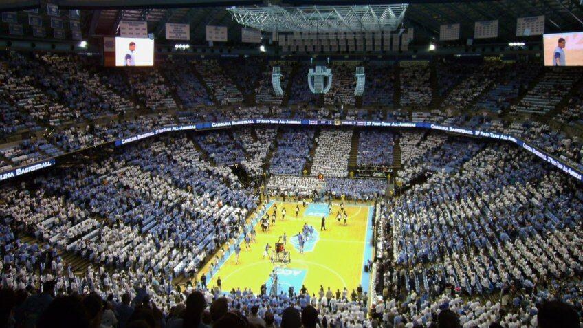 Dean Smith Center North Carolina basketball