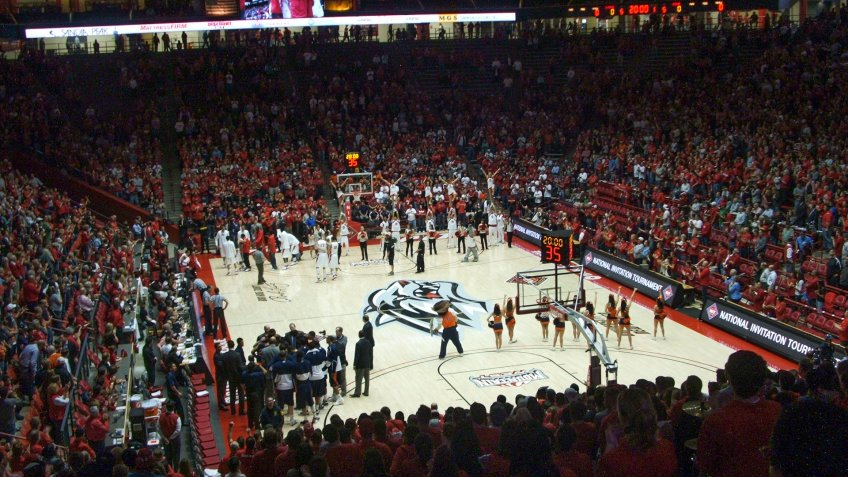Dreamstyle Arena The Pit New Mexico NCAA basketball