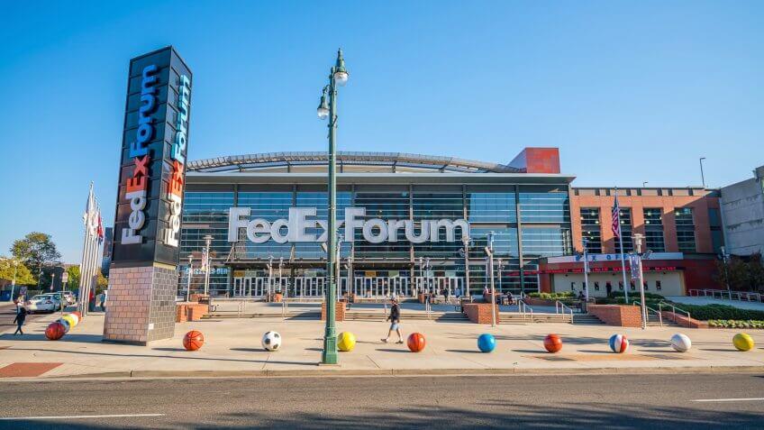 FedEx Forum Memphis Grizzlies
