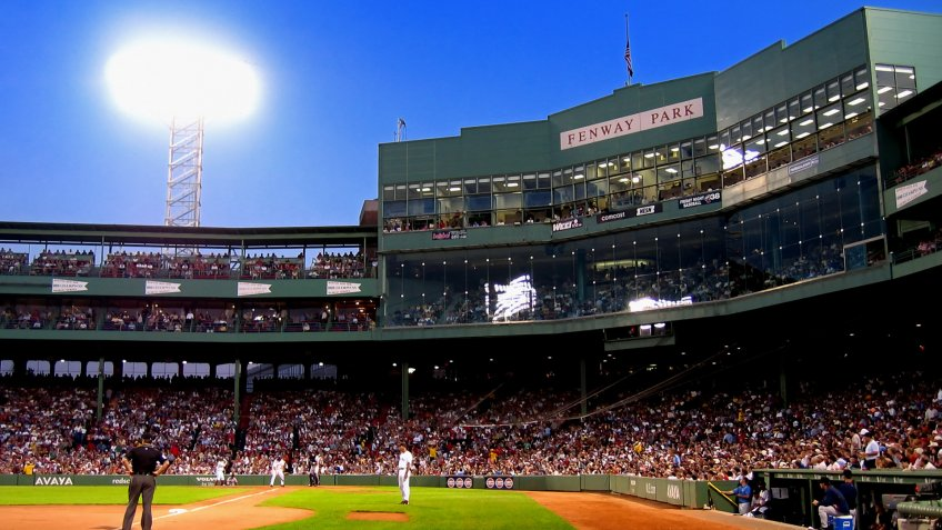 Fenway Park Massachusetts baseball stadium