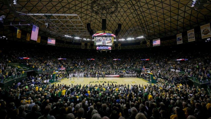 Ferrell Center Texas NCAA basketball