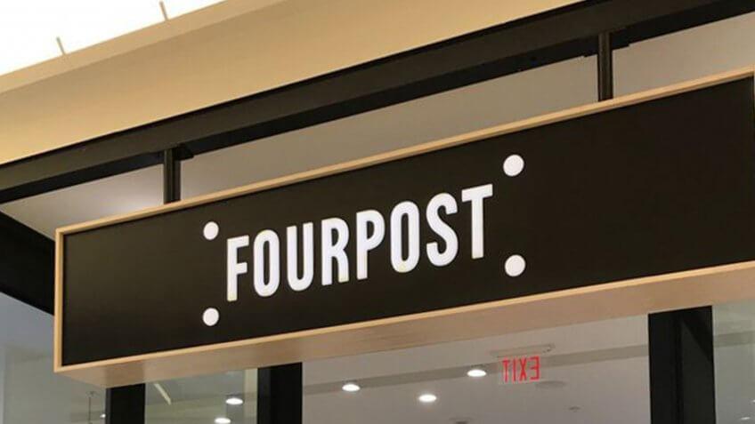 Fourpost retail shop