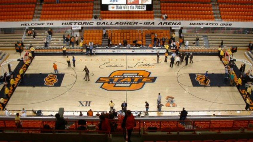 Gallagher Iba Arena Oklahoma NCAA basketball