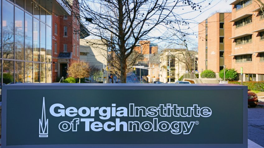 Georgia Institute of Technology campus in Atlanta Georgia