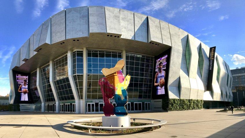 Golden 1 Center Sacramento Kings