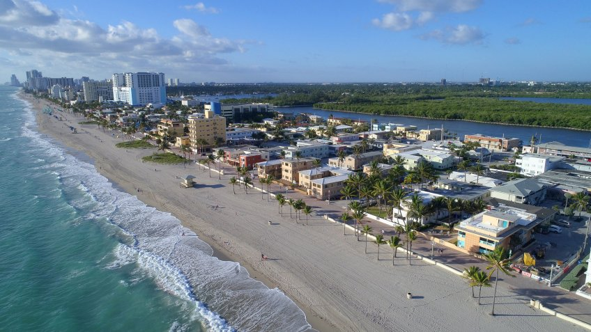 Hollywood Florida climate change