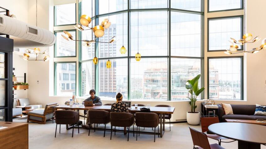 Industrious office in Back Bay