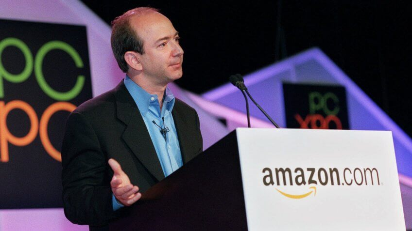 Jeff Bezos in the year 2000