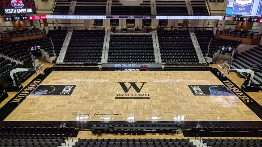 Jerry Richardson Indoor Stadium South Carolina NCAA basketball