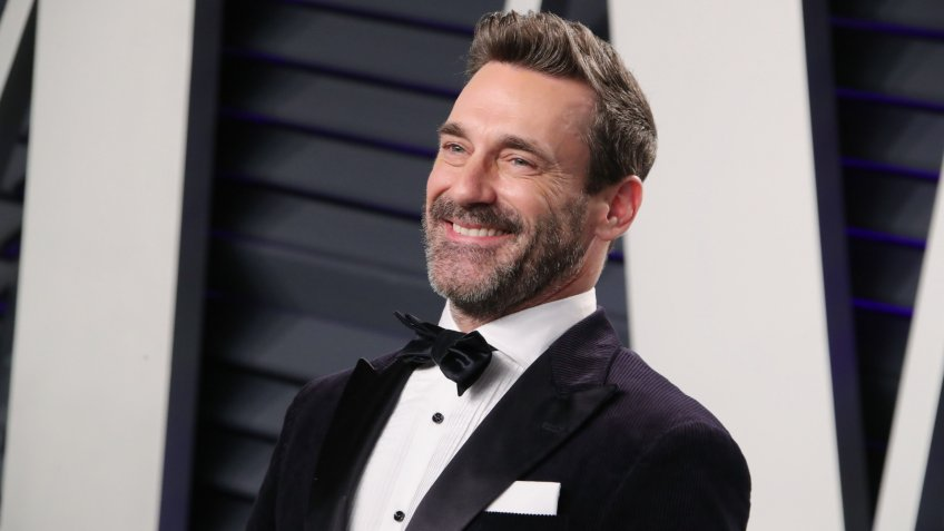 Jon Hamm Vanity Fair Oscar Party