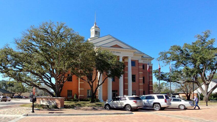 Katy Texas city hall