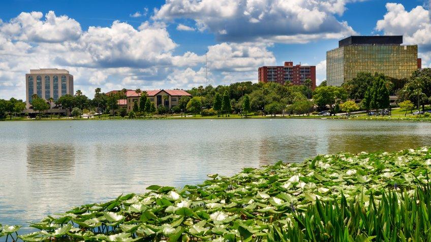 Lakeland Florida best weather