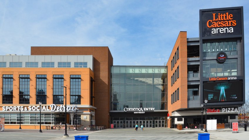 Little Caesars Arena Detroit Pistons