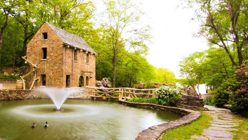 Old Mill in North Little Rock Arkansas - Image.