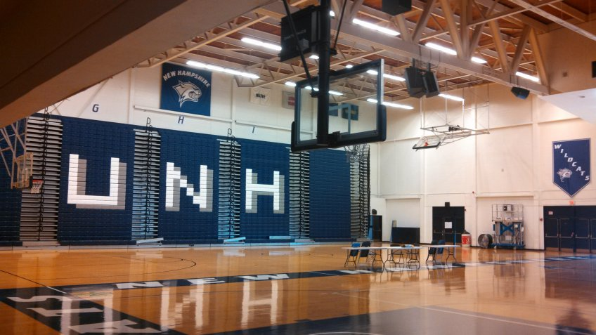 Lundholm Gym New Hampshire NCAA basketball
