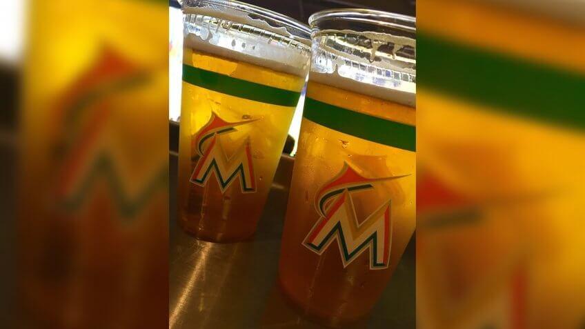 Marlins Park Miami Marlins game day snacks