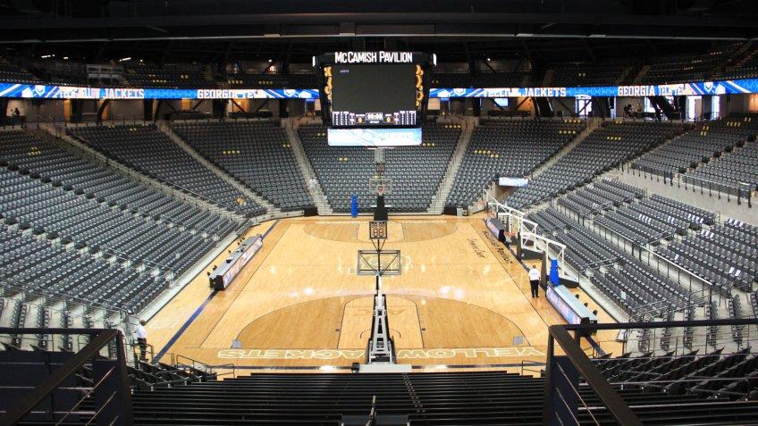 McCamish Pavilion Georgia NCAA basketball