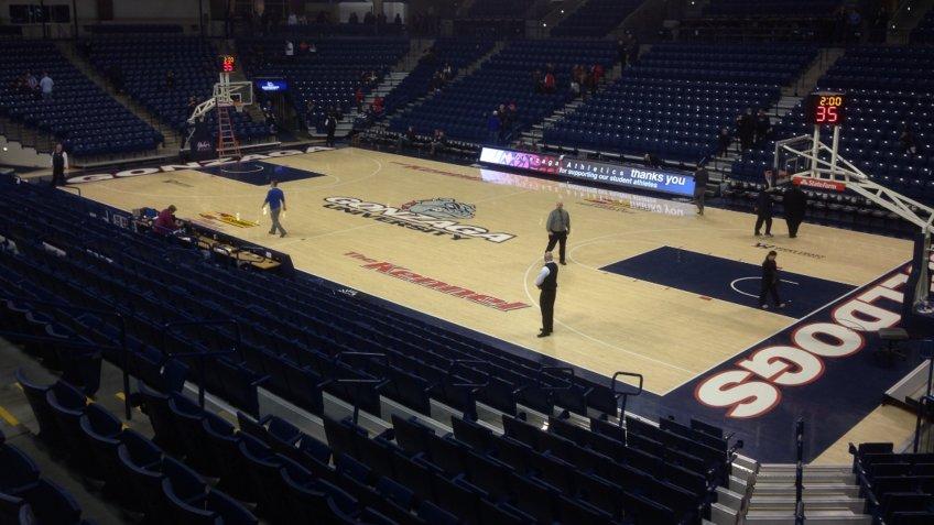 McCarthehy Athletic Center Washington NCAA basketball