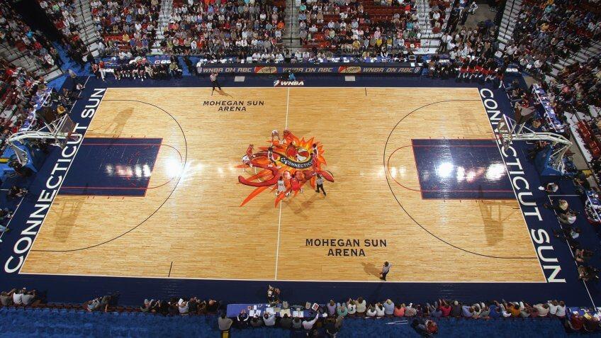 Mohegan Sun Arena Connecticut NCAA basketball