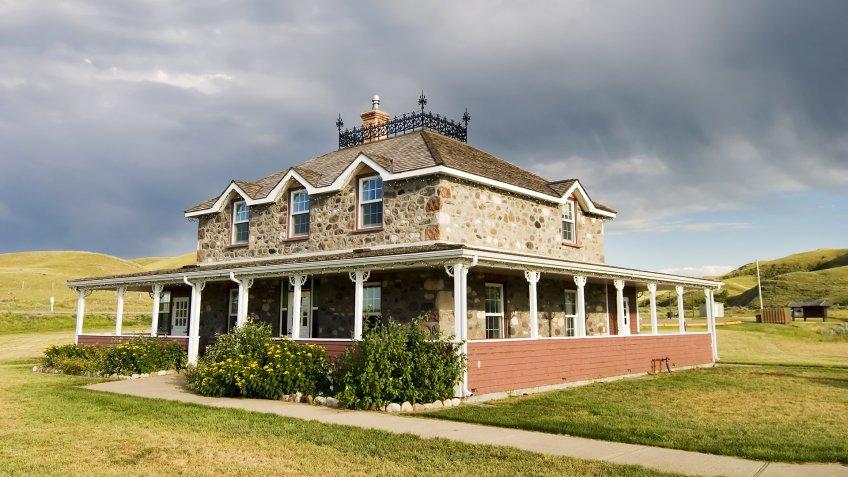 North Dakota mansion
