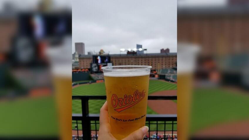 Oriole Park Camden Yards Baltimore Orioles game day snacks