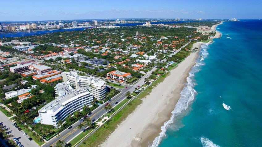 Palm Beach Florida climate change