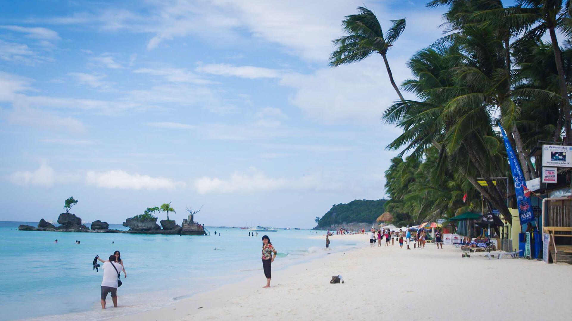 Phillippines pristine beach