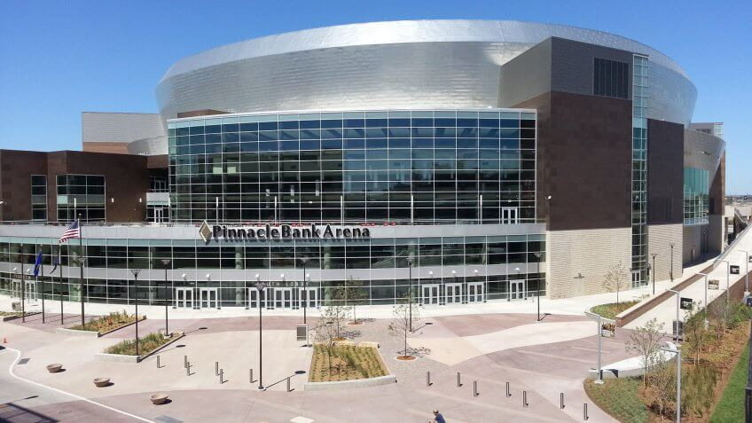 Pinnacle Bank Arena Nebraska NCAA basketball