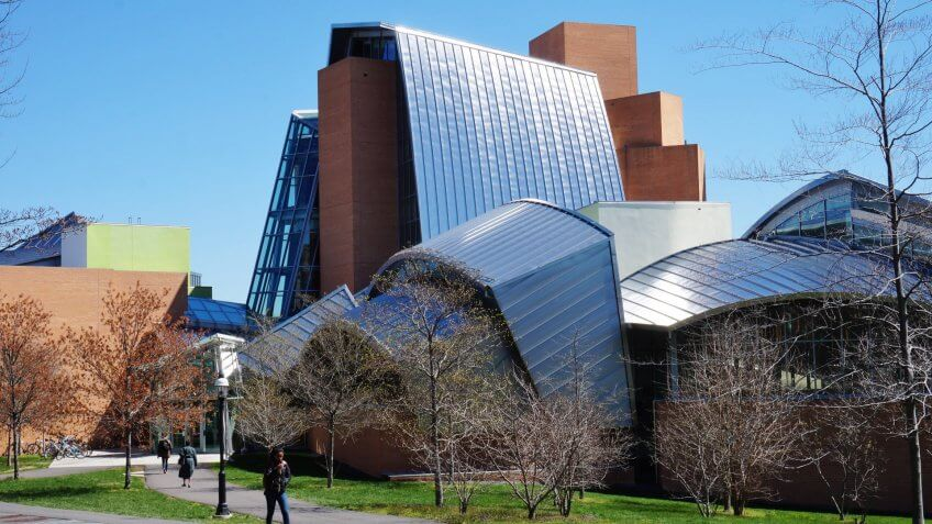 Princeton University Lewis Science LIbrary designed by architect