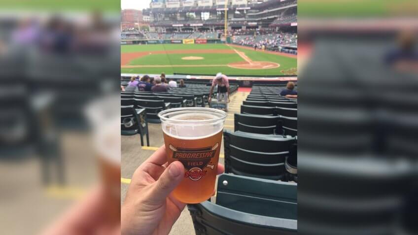Progrssive Field Cleveland Indians baseball stadium