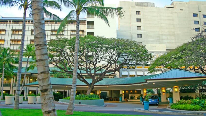 Queens Medical Center in Honolulu Hawaii