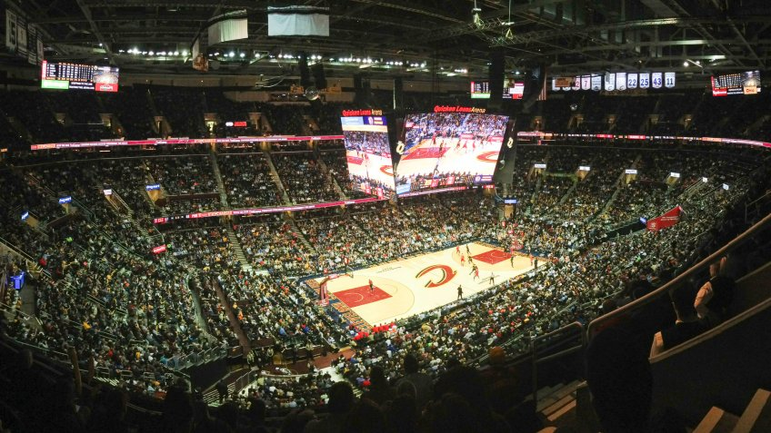 Rocket Mortgage Field House Cleveland Cavaliers