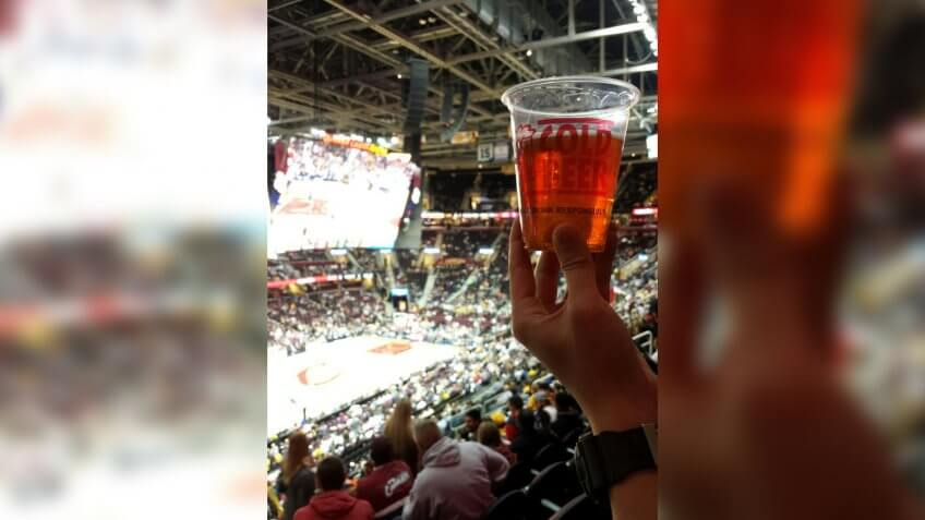 Rocket Mortgage Fieldhouse Cleveland Cavaliers basketball stadiu