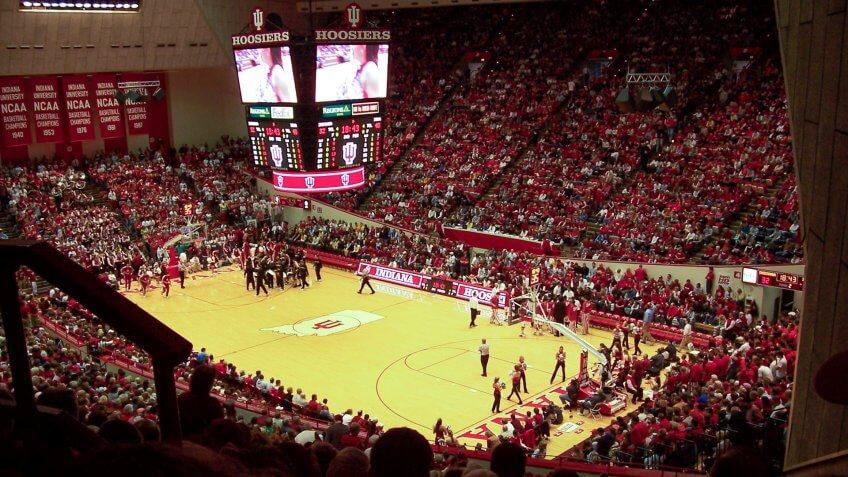 Simon Skjodt Assembly Hall Indiana NCAA basketball