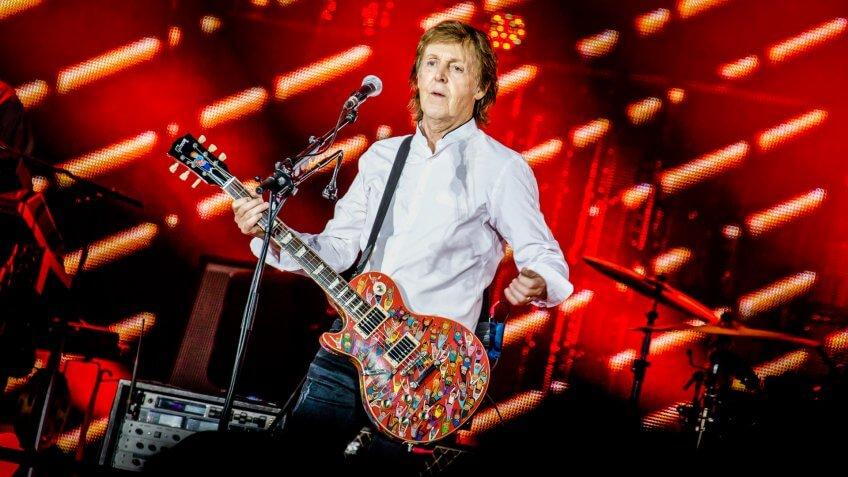 Sir Paul McCartney Net Worth