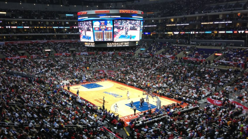 Staples Center Los Angeles Clippers