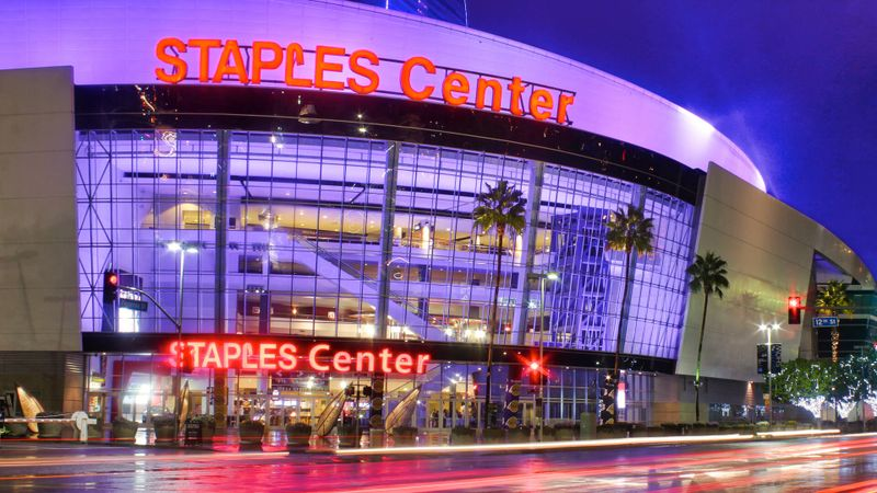 Staples Center Los Angeles Lakers Clippers stadium