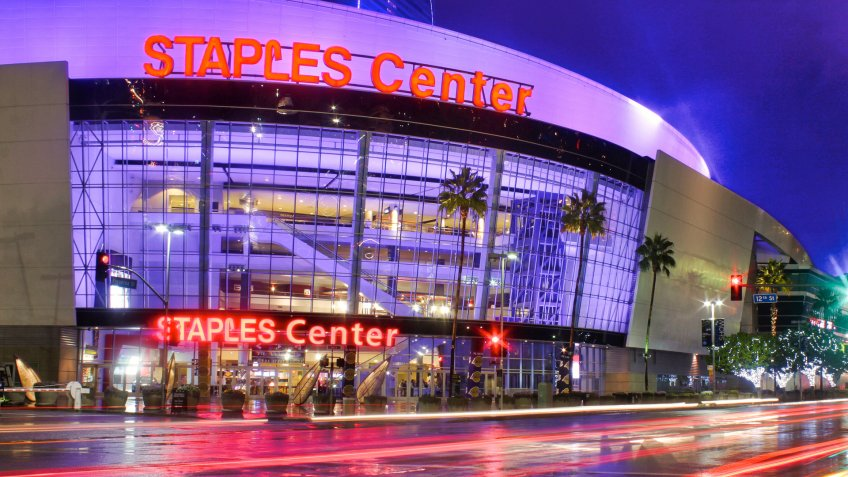 Staples Center Los Angeles Lakers