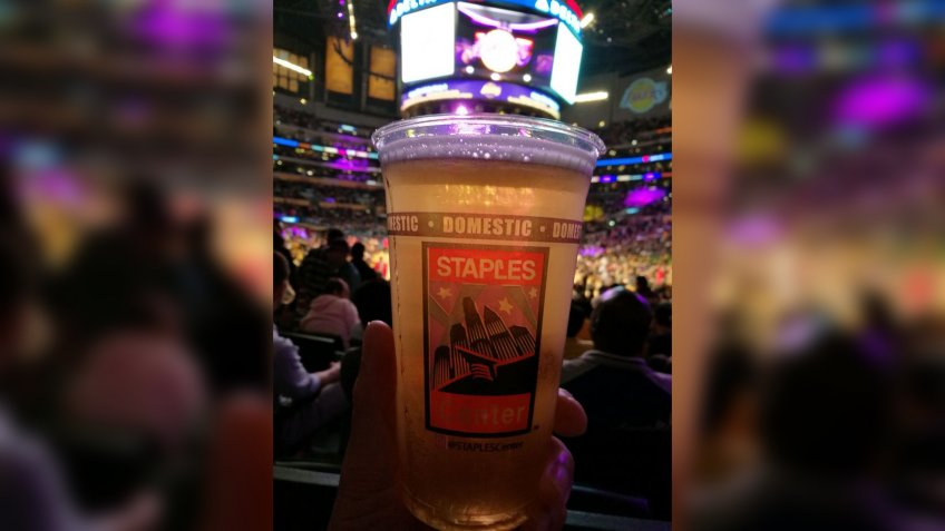 Staples Center Los Angeles Lakers Clippers stadium food
